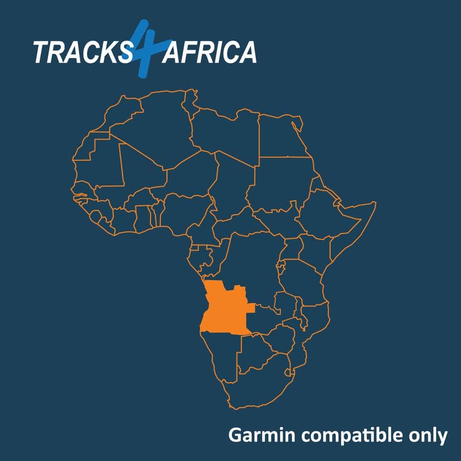 Angola Garmin GPS Map Download v19.09