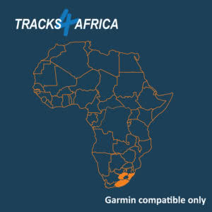 Zimbabwe & Zambia Garmin GPS Map Download v19 09 - Tracks4Africa
