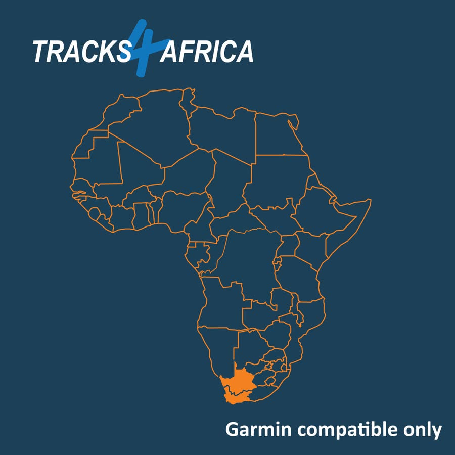 South Africa: Western and Northern Cape Garmin GPS Map Download