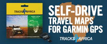 Tracks4Africa GPS Maps for Garmin GPS
