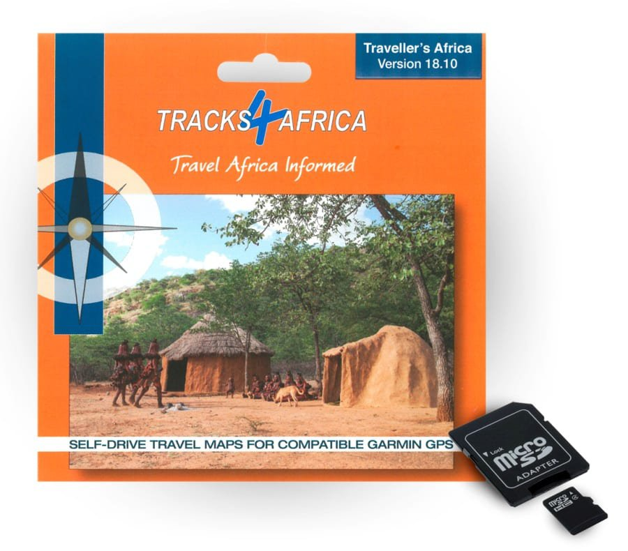 T4A GPS MAP Version 18.10 for Garmin on SD CARD